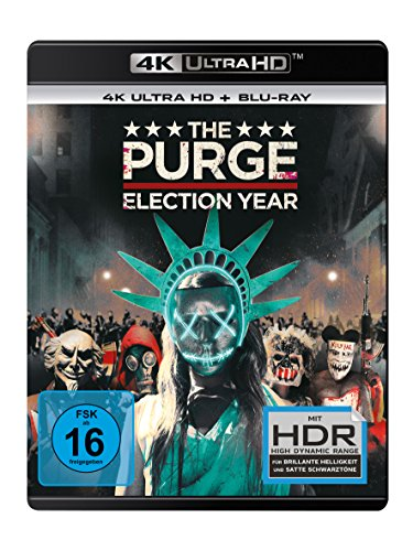 The Purge 3: Election Year - Ultra HD Blu-ray [4k + Blu-ray Disc]