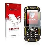 upscreen Scratch Shield Clear Bildschirmschutz Schutzfolie für Cyrus CM 15 (hochtransparent, hoher Kratzschutz)