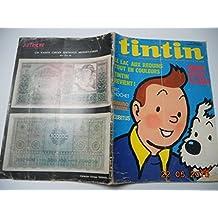 TINTIN N? 1259 special 76 pages - le lac aux requins - tintin revient - ric hochet - bruno brazil - cubitu