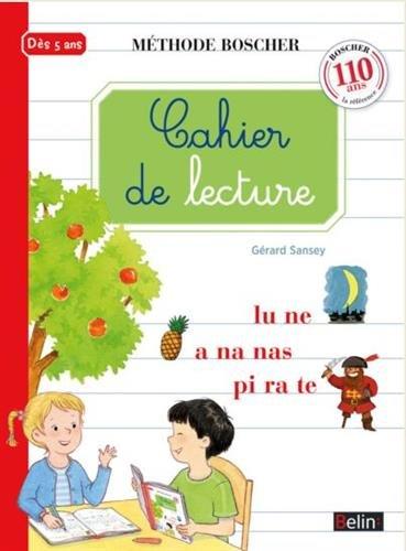 Cahier de lecture par Paul Boscher