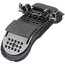 [Update Version] NICEYRIG Camera Coussinet d'épaule avec 15 mm Rod Clamp pour vidéo Support d'épaule Rig Système de Support