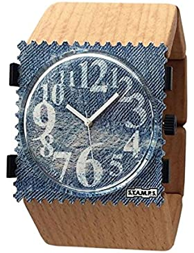 S.T.A.M.P.S. Armband 103541 Belta Wood Beige