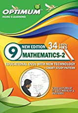 Optimum Educator Educational DVD's Std 9 MH Board Mathematics Part 2-Digital Guide Perfect Gift for School Students – Easy Video Learning- Fun with Maths