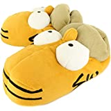 New Mens/Gents Homer Simpsons Novelty Head Slippers, Ideal Gift Idea - Yellow/Multi - UK SIZES 6-12