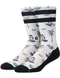 Stance Surfin Monkey Socks Tan