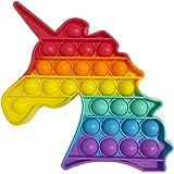 iCOOLIO Pop it Fidget Toys, popit Fidget Toy Set, poppit Antistress, Fidget Toy Set Multicolor, Push Pop Bubble, figet spielz