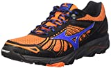 Mizuno Wave Mujin 3, Scarpe da Trail Running Uomo, Arancione (Clownfish/Strong Blue/Dark Shadow), 43...