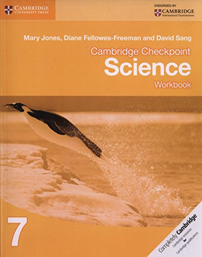 Cambridge checkpoint science. Workbook. Per le Scuole superiori. Con espansione online: 7 (Cambridge International Examin)