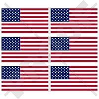 Usa stati uniti d' America bandiera americana 40mm (40,6cm) telefono cellulare mini adesivi in vinile, decalcomanie X6