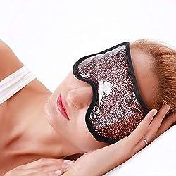 Gel Kühlmaske Augenmaske Kühlend Schlafmaske Kühlbrille für Die Augen, Migräne