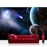 Liwwing FTVLPP-0232-300X210 - Vellón fotografía de fondo 300x210 cm - cima! premium plus fondo de pantalla! murales de papel tapiz mural xxl pared cuadro de la pared del papel pintado wanddeko planeta tierra el espacio exterior -. no 232