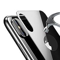 Bovon Pellicola Posteriore in Vetro Temperato Fornisce una Protezione Perffeta per il suo Apple iPhone XLa scelta migliore per il tuo iPhone X Realizzato in vetro temprato di alta qualità, appositamente progettato per adattarsi alla parte pos...
