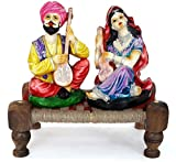#9: TIED RIBBONS® Rajasthani couple idols | home decor items in living room | showpiece & Gifts