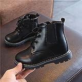 Quaan Kinder(21-30) Jungen Martin Sneaker, Solide Stiefel Kinder Schnee Baby Beiläufig Tarnung Anti-Rutsch wasserdicht Warm Schnee Regen Weich atmungsaktiv Festival Retro Klassisch Schuhe