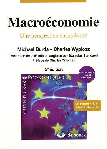 Macroéconomie : Une perspective européenne