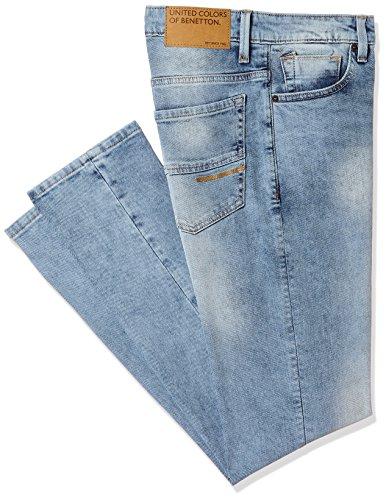 United Colors of Benetton Men's Slim Fit Jeans (18P4L23R8106I_Blue_32)