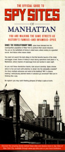 (The Official Guide to Spy Sites of Manhattan)