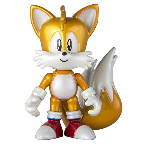 22528tailsnew–Tails 25. Jahrestag 7,6cm Single Figur Pack (Tails Sonic The Hedgehog)