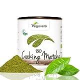 BIO Matcha Tee – Cooking | 200g | BIO Qualität | Smoothies – Shakes – Matcha Latte | Hochwertige Aroma-Schutzdose | OHNE Zusätze | Vegavero