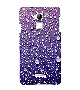 Water Droplets 3D Hard Polycarbonate Designer Back Case Cover for Coolpad Note 3