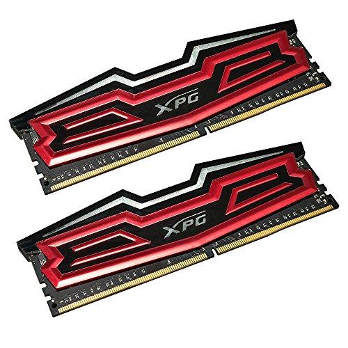 ADATA AX4U2400316G16-DRD Dazzle DDR4 2400MHz (PC4-19200) CL16 32GB (16GBx2) LED Arbeitsspeicher rot