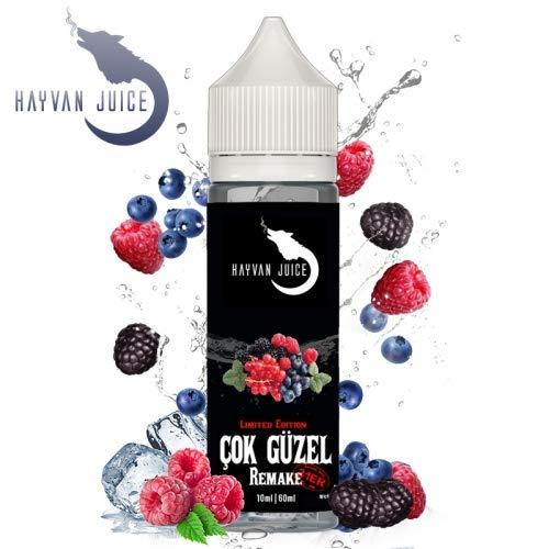 Preisvergleich Produktbild Hayvan Juice Cok Güzel Remake 31er Aroma by Dampfshop4u