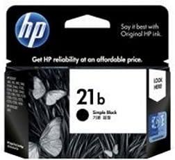 HP 21b Simple Black Inkjet Print Cartridge