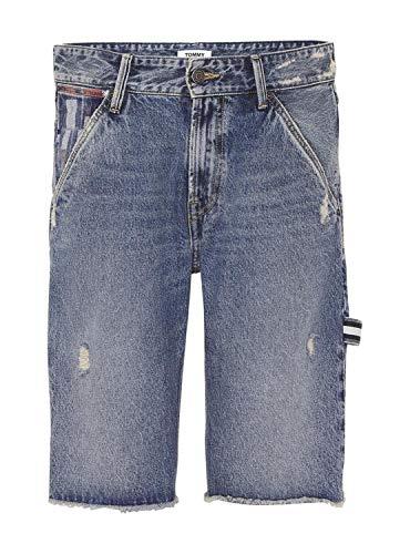 Tommy Jeans DM0DM06157 Carpenter Short AMR Bermudas UND Shorts Herren Denim MEDIUM Blue 34 Denim Carpenter Jeans
