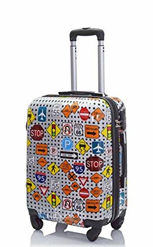 Cabin Suitcase 50 cm - Coque dure ABS Super Léger avec...