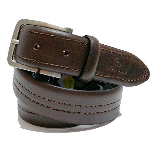 Cintura uomo Roncato in pelle art:930/35 testa di moro made in italy (vera Pelle)
