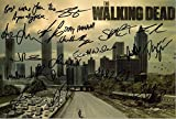 LIMITED EDITION THE WALKING DEAD CAST SIGNED PHOTO + CERT PRINTED AUTOGRAPH SIGNATURE SIGNED SIGNIERT AUTOGRAM