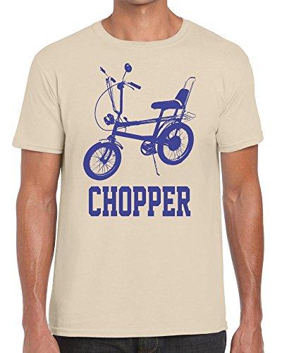 Raleigh Chopper Retro Tshirt - 100% Cotton - Small to XXL - 6 Colours - Great Gift Idea