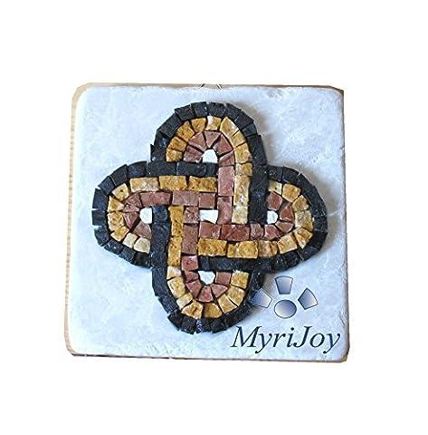 Mini mosaic tile kit for adults DIY Mini Solomon's Knot