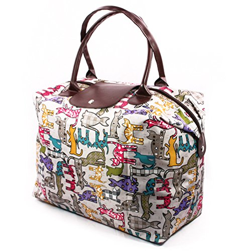 Black Ginger Bagage cabine Multicolore Chats moyen