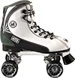 KRF Retro Formula Maxi - Patines quad, color blanco, talla 41