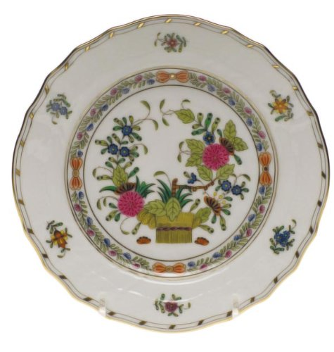Herend Indian Basket Bread & Butter Plate by Herend (Herend Indian Basket)
