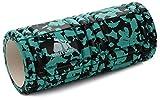 meteor Masaje rodillo rodillo de espuma Foam Roller Fitness Masaje para gimnasia EVA Regeneración y rendimiento para su uso en casa, oficina o Viajes., verde