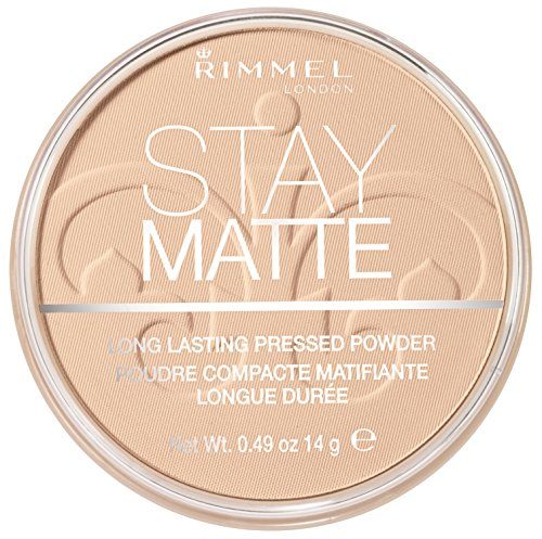 RIMMEL LONDON Stay Matte Long Lasting Pressed Powder - Creamy Natural