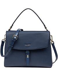 On Clearance - Figestin Women Leather Tote Purse Designer Top Handle Satchel Shoulder Bags For Ladies - B0756VNWMH