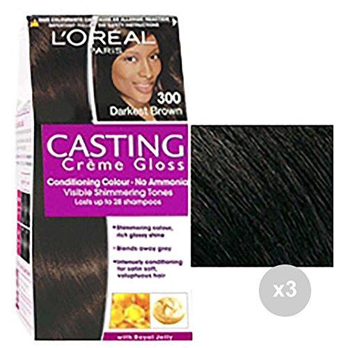 Casting Set 3 Creme Gloss 300 Castano Scuro Tinta Colorata per Capelli, Multicolore, Unica