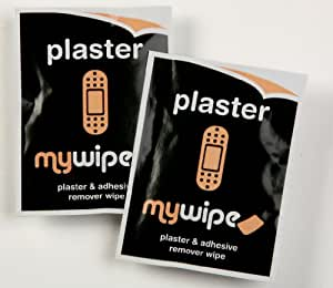 MYWIPE Gentle Plaster & Adhesive Remover Wipes 20s