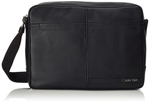 Calvin Klein Chris Messenger Sac bandoulière 38 cm compartiment ordinateur portable Black
