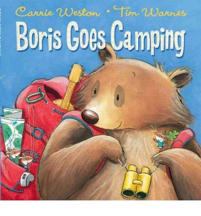 [ BORIS GOES CAMPING BY WESTON, CARRIE](AUTHOR)PAPERBACK