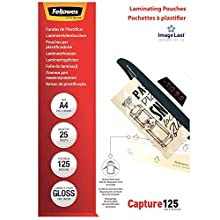 Fellowes ImageLast A4 125 Micron Laminating Pouch - (Pack of 100)