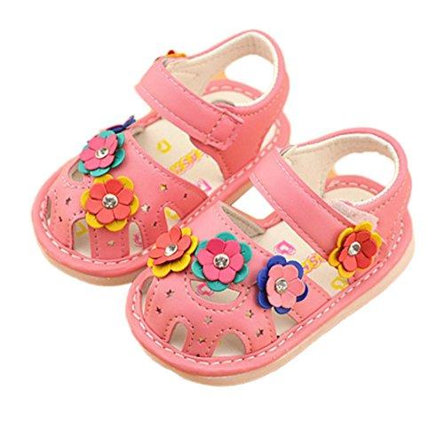 Culater® I pattini di fiore della ragazza dei bambini calza i pattini di principessa Rosa