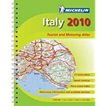 Italy 2010 - Atlas (A4-Spiral) (Michelin Tourist and Motoring Atlases)
