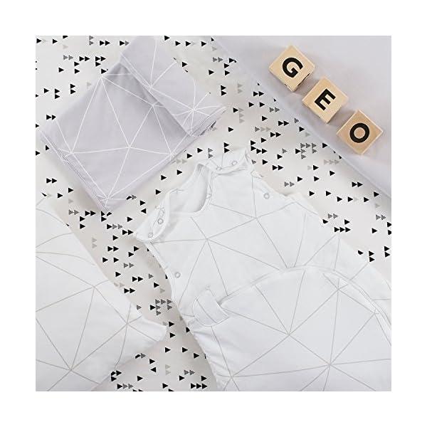 snuzpouch Designz saco de dormir 2.5Tog–Mono Geo