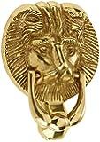 Mila 590224 ProLinea Lion Head Door Knocker - Polished Gold