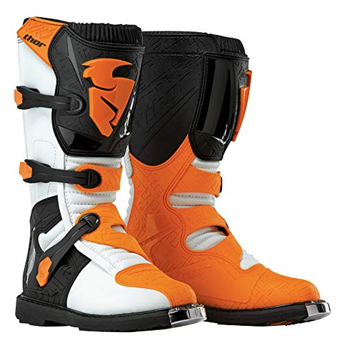 Thor Motocross-Stiefel Blitz Orange Gr. 43