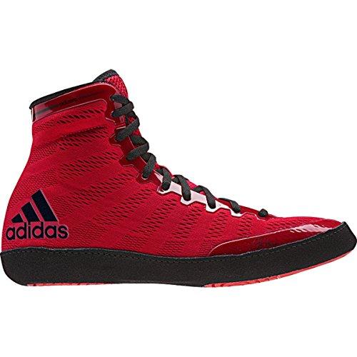 Adidas Adizero Varner Wrestling chaussures, Royal / blanc / noir, 4 M Us Red/black